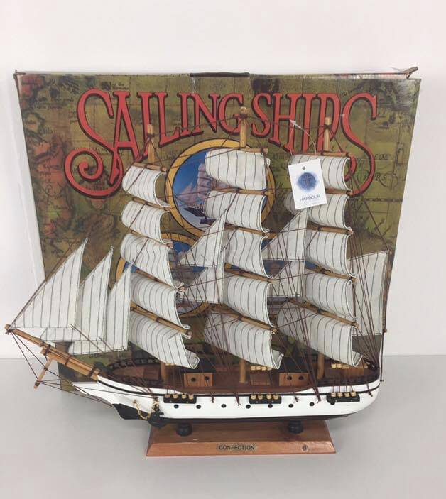 Gifts For Him Model Wooden Sailing Boat - Giftworks
