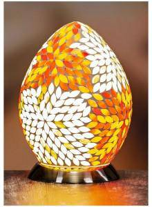 The Grange Collection Coloured Mosaic Egg Lamp A beautiful piece of lighting that lightens up the room and the occasion with its unique sense of style from the first glance/Giftworks, Ennis&Galway
