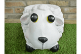 Add a cute accessory to your home or garden with this gorgeous Resin Sheep Stool/GiftworksStores, Ennis&Galway