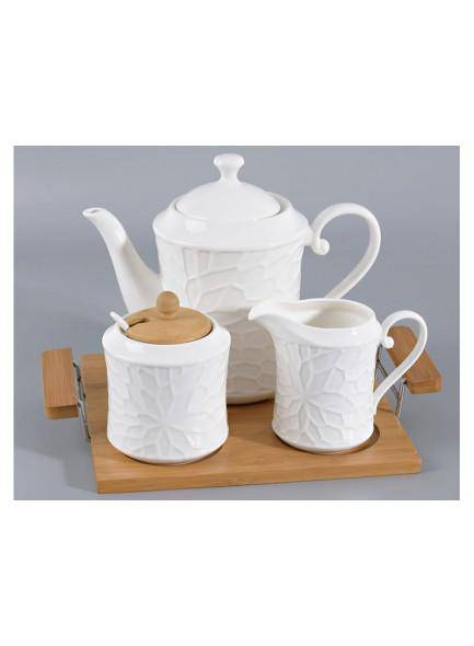 The Grange Collection Adele 3 Piece Tea Set - Giftworks