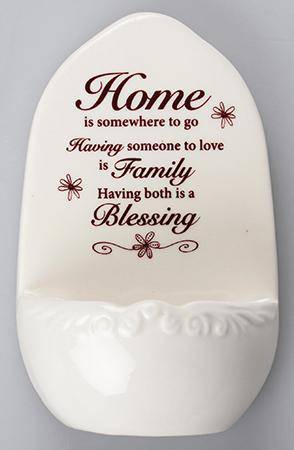Holy Water Font Our Holy Water fonts make an ideal gift and will gracefully complement any home/Giftworks, Ennis&Galway