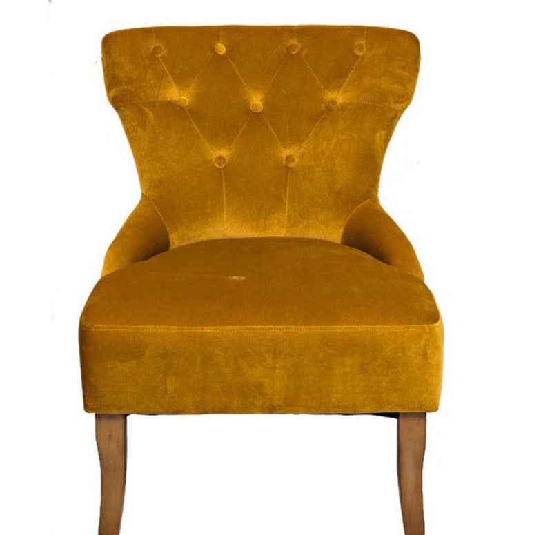 The Grange Interiors Chair - Yellow - Giftworks