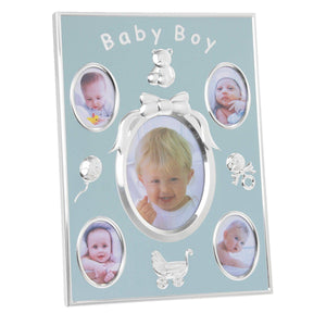 Baby Multi Photo Frame – Holds 5 Pictures