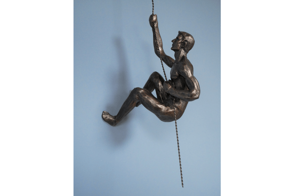 f you have a blank wall in your home and are stuck for ideas, this charming Abseiling Man will literally hang off your wall for a unique and eye catching display/Giftworks, Ennis&Galway