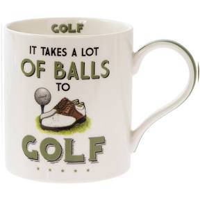 What do you buy the golfer in your life who has everything? One of these splendid mugs of course! /Giftworks