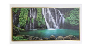 t Gold Framed Canvas Bring tropical vibes into your home with the Forest print Canvas/Giftworks, Ennis&Galway