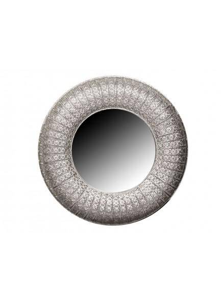 The Grange Collection Silver Metal Mirror 110cm