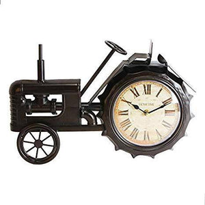 A vintage black tractor clock from Hometime. This quirky clock takes the form of a vintage tractor which brings a classic vintage touch to the home/Giftworks