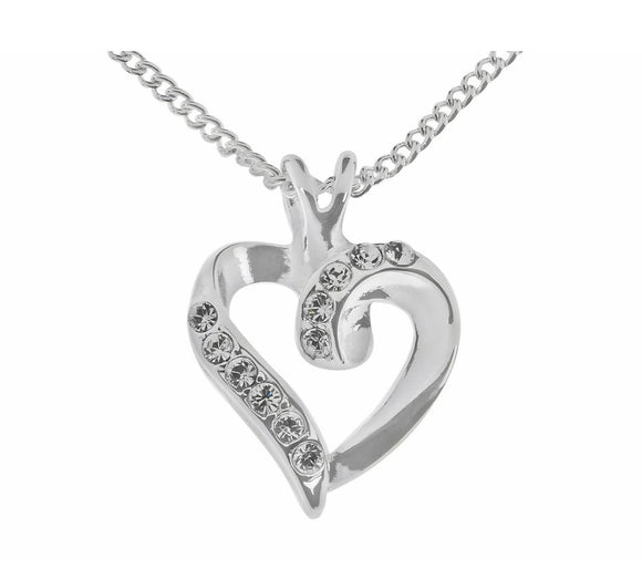 Indulgence Jewellery Necklace Capture the beat of her heart with this Heart necklace/Giftworks, Ennis&Galway
