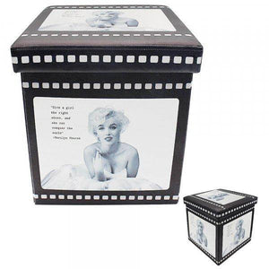 Marilyn Monroe Storage Box A Marilyn Monroe design folding storage box. A great gift idea for anyone who loves the Hollywood icon Marilyn Monroe/Giftworks, Ennis&Galway
