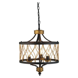 Elvar 3 Light Drum Ceiling Light Pendant