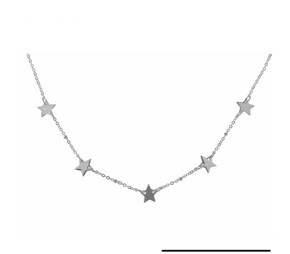 Indulgence Jewellery Necklace Delicate and romantic multi star necklace by Indulgence Jewellery/Giftworks, Ennis&Galway
