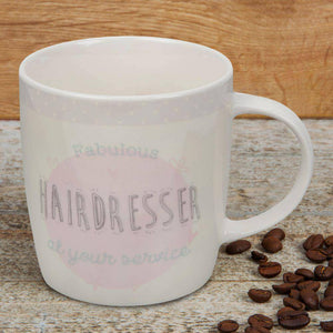 Hairdresser Mug Make sure that the 'Fabulous Hairdresser' in your life knows just how special they are with this stoneware mug/Giftworks, Ennis&Galway