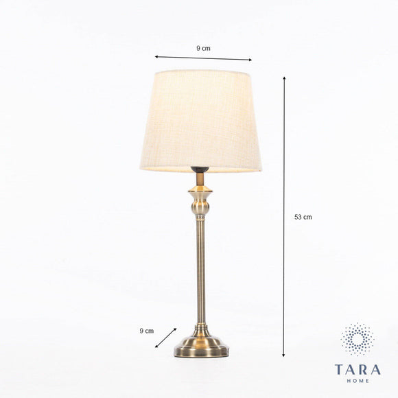 The Dani bronze mini buffet lamp from Tara Living Interiors has a stylish slimline design and comes at a slender price too/Giftworks, Ennis&Galway