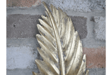 Leaf Wall Decoration Add instant shine to a plain wall in your home with the Elegant Leaf Wall Decor/Giftworks, Ennis&Galway