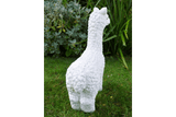 Add a cute accessory to your home or garden with this adorable White Llama/GiftworksStores, Ennis&Galway