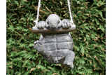 Add some cheer to your garden with this whimsical Hanging Tortoise ornament or if your like me, than he needs to stay indoors/Giftworks, Ennis&Galway