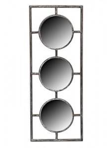 The Grange Collection 3 Metal Mirrors