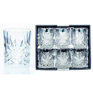 4 beautiful, bohemian whiskey tumbler from Newgrange Living. These Whiskey Tumblers are the ideal gift for any liquor fan, the appealing aesthetic and unique design are sure to impress at Giftworks
