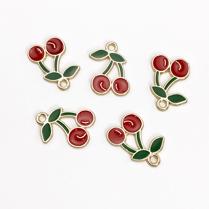 5 jewelry charms that look like cherries