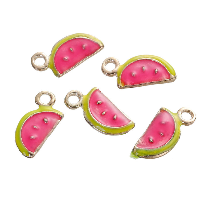 jewelry charms that look like watermelon slices
