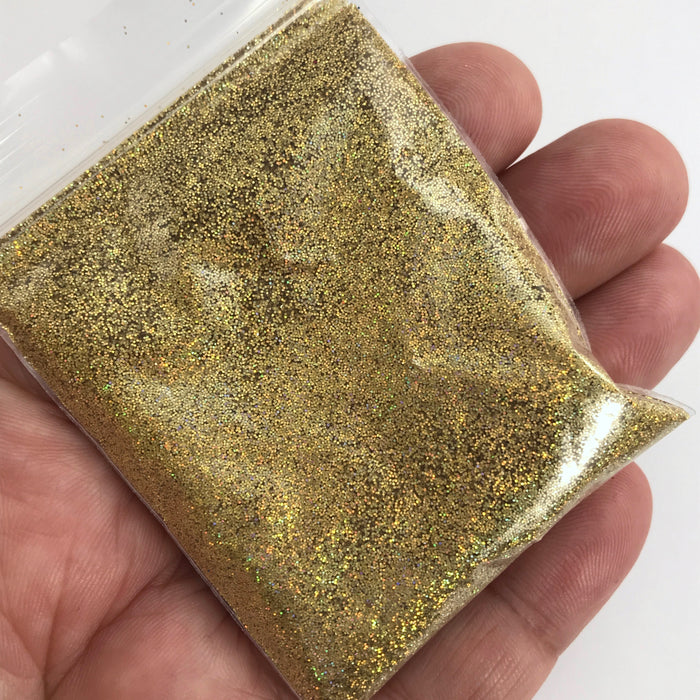 bag of gold holographic glitter