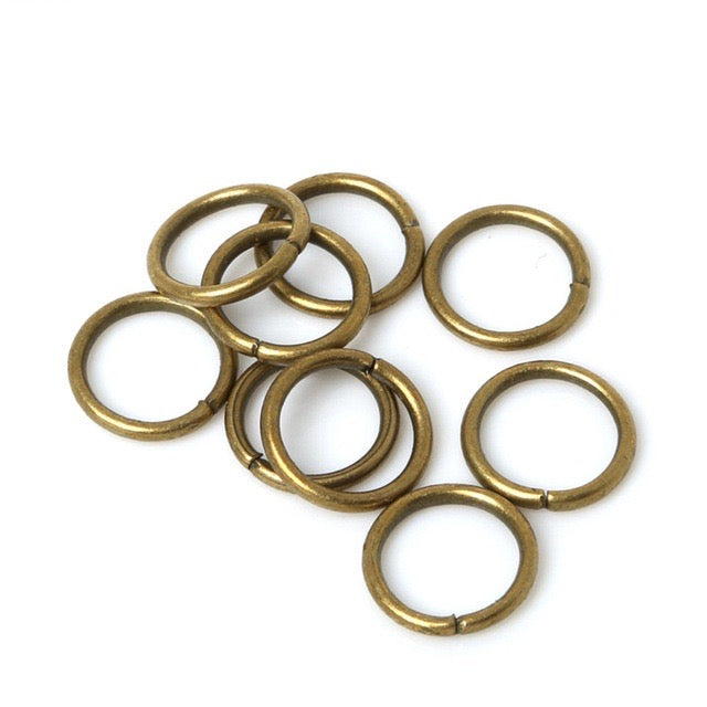 bronze color jump rings