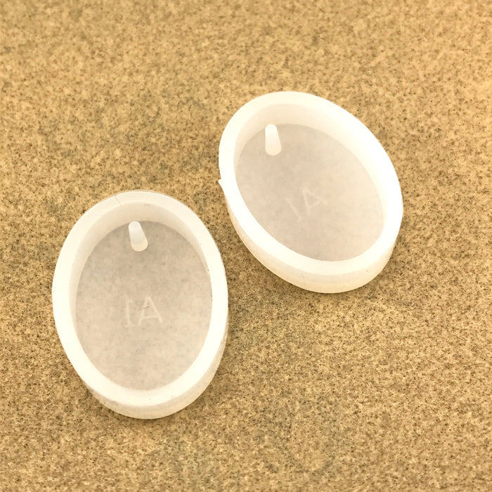 oval shaped silicone mold