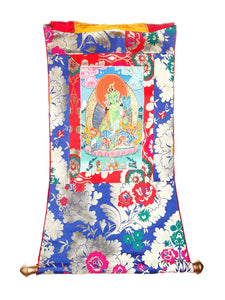 THANKA PAINTING GREEN TARA