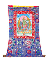 Load image into Gallery viewer, THANKA PAINTING GREEN TARA