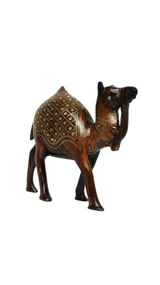 RAJASTHANI TRIBAL HANDMADE BROWN CAMEL