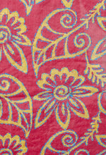 Load image into Gallery viewer, BLOCK PRINTED TASSAR SILK STAWL FOR WOMEN