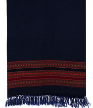 Load image into Gallery viewer, HANDWOVEN BLUE SHAWL KINNAURI : HP