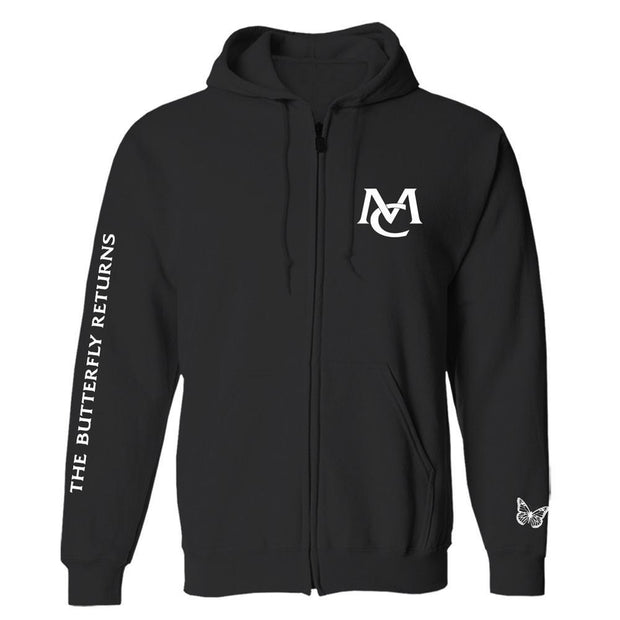 The Butterfly Returns Zip Hoodie-Mariah Carey