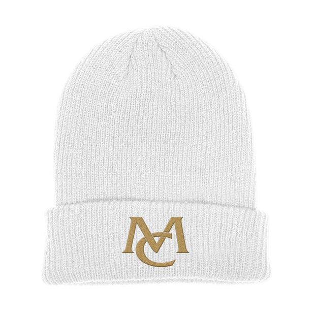 MC Logo Beanie - white-Mariah Carey