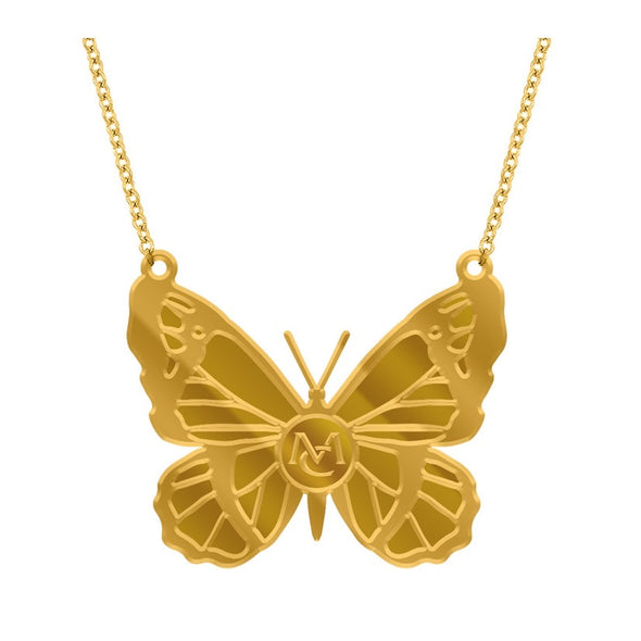 MC Butterfly necklace