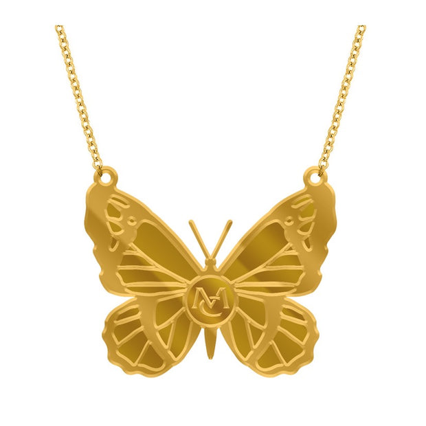 MC Butterfly necklace-Mariah Carey