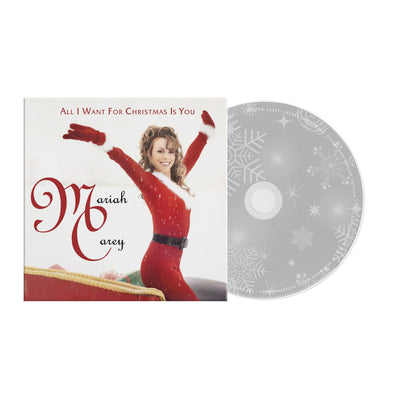 Limited Edition All I Want For Christmas Is You Limited Edition CD Single