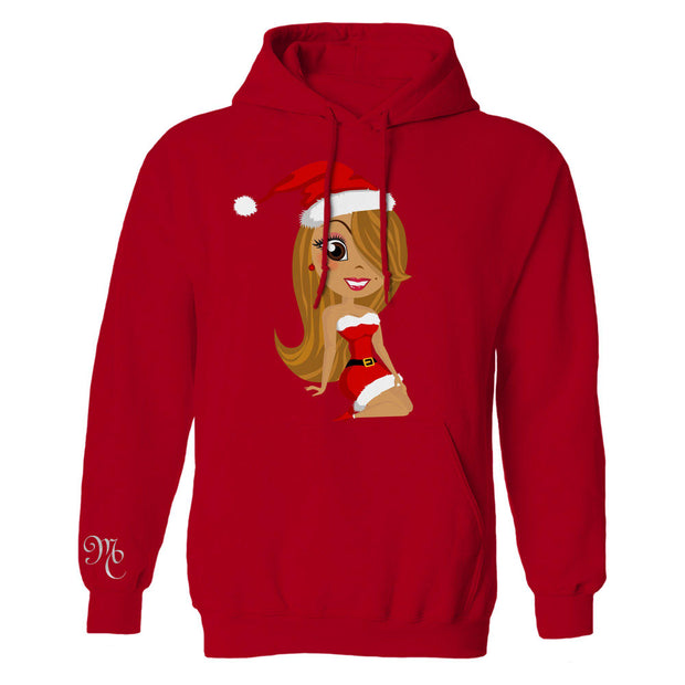 All I Want For Christmas Is You Foil Hoodie-Mariah Carey