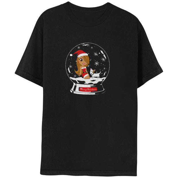 Holiday Snowglobe Short Sleeve Tee