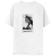 """If This Kid Makes It…"" White Short Sleeve Tee-Mariah Carey"