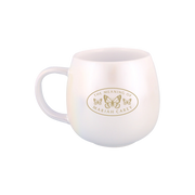 """Keep Calm and Carey On"" Iridescent Mug"