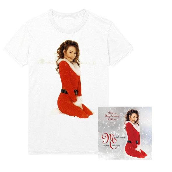 Merry Christmas (Deluxe Anniversary Edition) Album & Short Sleeve Tee