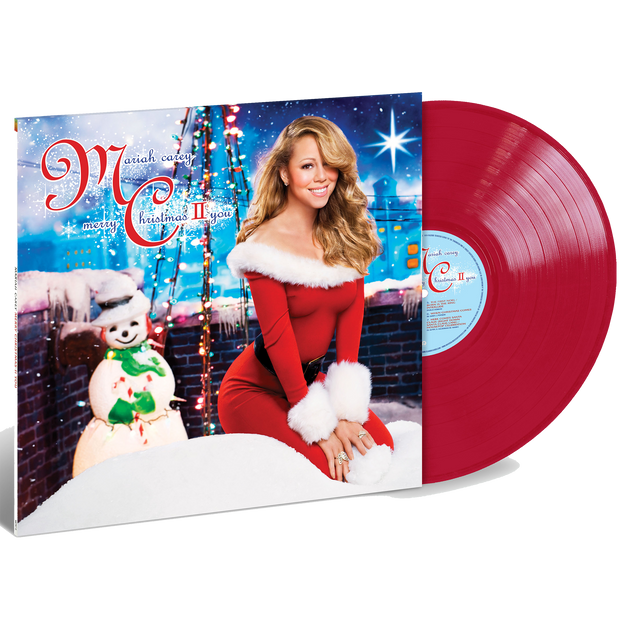 Merry Christmas II You Limited Edition Red Vinyl 2LP-Mariah Carey