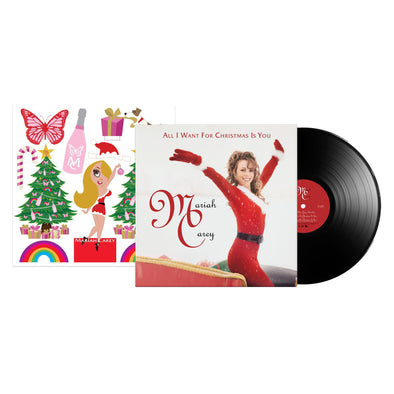 "Limited Edition All I Want For Christmas Is You Single 12""-Mariah Carey"