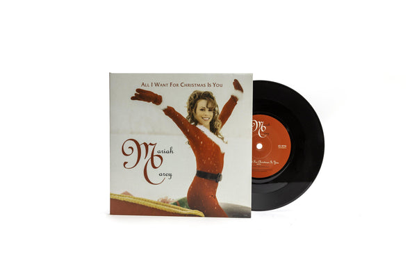 Limited Edition All I want For Christmas Is You Single 7""