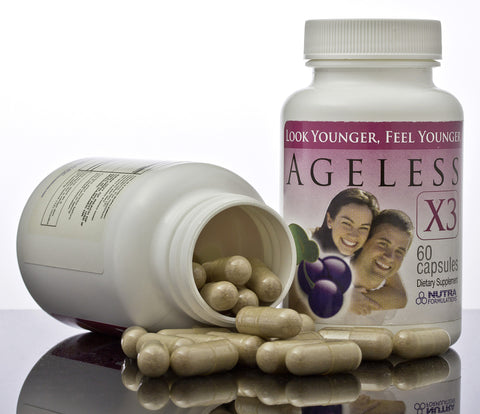 Nutra Formulations Ageless X3 Super Antioxidant