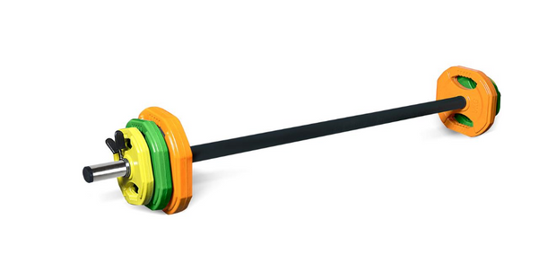 STUDIO BARBELL SET WITH WEIGHT
