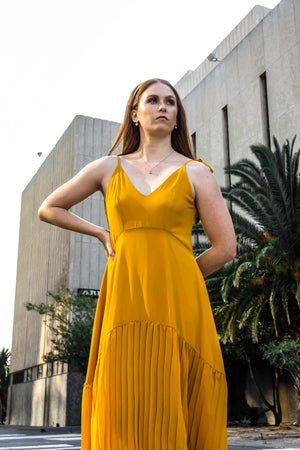 Sun-Ray Trio Dress