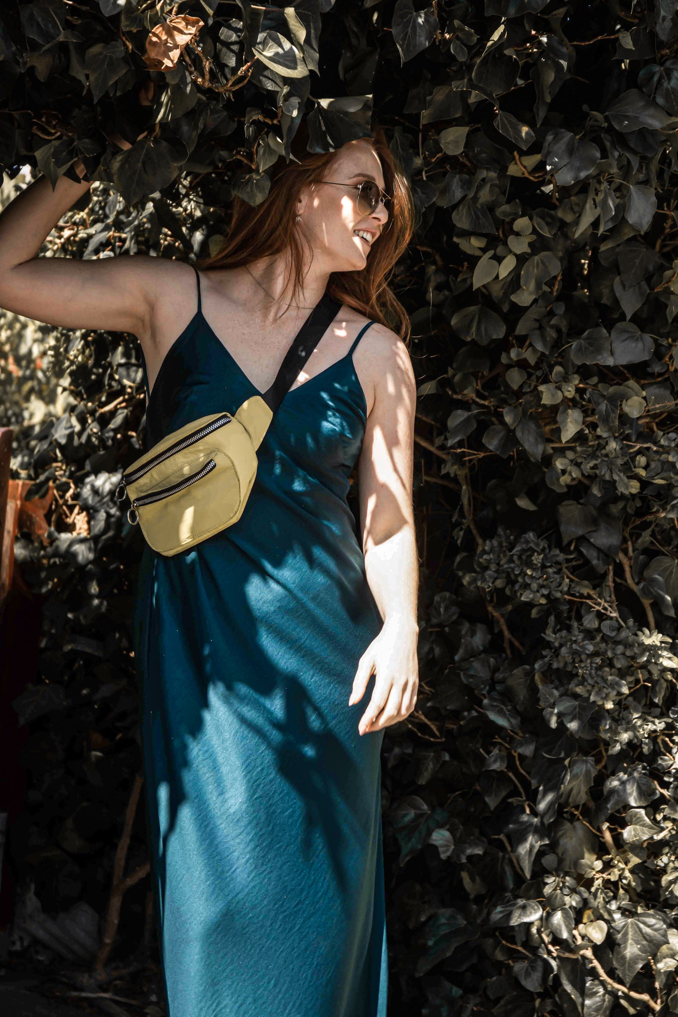 The Emerald Teal Slip Dress
